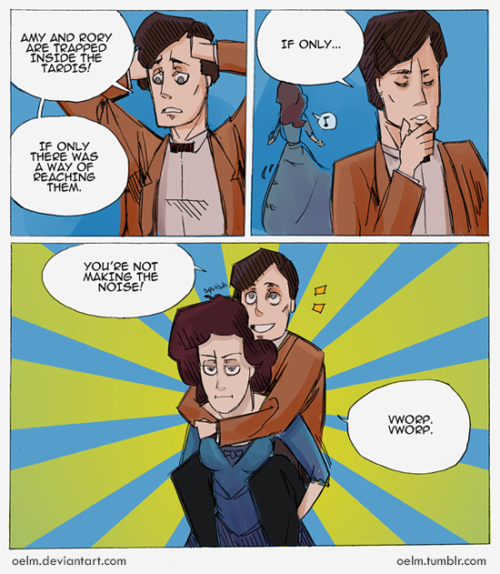 oelm:  Doctor Who - Piggyback by ~Oelm
