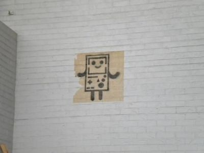 adventuretimefan:  I found this graffiti painting of Bemo on the side of a building in OSU campus. I didn't make it, just thought it was really cool. submitted by sushidude1