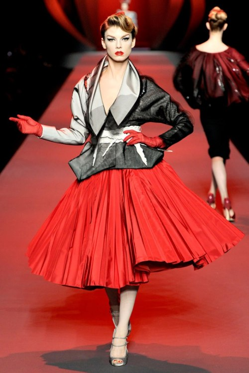 This is why I think Dior never should have fired John Galliano. There is no doubt about the fact that he is a terrible person, but there's a point where the artist must be separated from their art. The clothes Galliano made were obscenely beautiful, if he wants to conduct himself in a disgusting manner in his personal life, that is his prerogative; it in no way reflects on his professional skill.