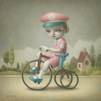 pussypinklipstick:  'Little Boy Blue' Mark Ryden 'Little Nazi Pink'