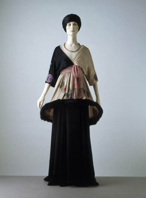 "omgthatdress:  Paul Poiret ""Sorbet"" ca. 1912 via The Victoria & Albert Museum"