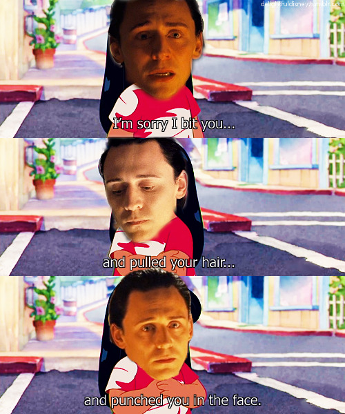 thor-sonofodin:  It tis alright Loki, I forgive you.
