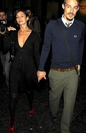Natalie Imbruglia and Daniel Johns. (photographer unknown)