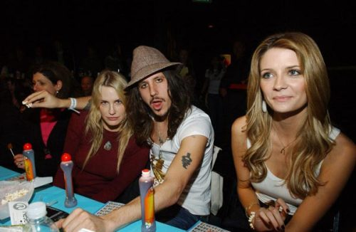Cisco Adler and Mischa Barton (with bonus Daryl Hannah). (photographer unknown)