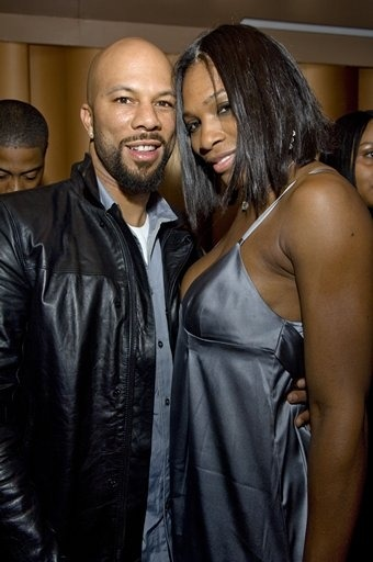 Common and Serena Williams. (photographer unknown)