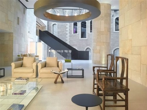 alrov mamilla hotel & spa/jerusalem, israel/lissoni associati graphx via: lissoniassociati