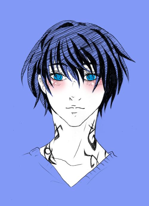 blackmayo89:  Alec Lightwood. I still can't draw him perfectly how I imagine him. Damn it.  That is such a cute Alec!