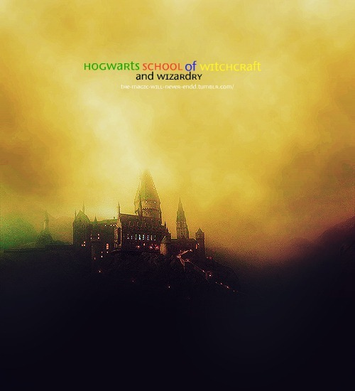 the-magic-will-never-endd:  Hogwarts School of Witchcraft and Wizardry,