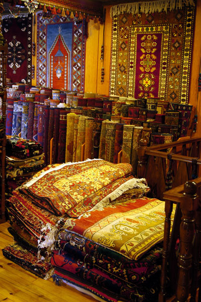beautiful-earth:  Carpet shop, Selçuk Copyright Brian J. McMorrow