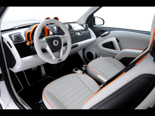 allaboutsmart:  Smart Fortwo Brabus 'Tailor-Made' Interior