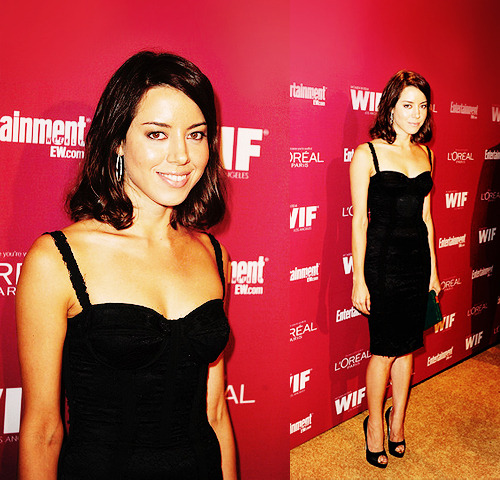 Aubrey Plaza attends The 2011 Entertainment Weekly And Women In  Film Pre-Emmy Party on September  16, 2011 in West Hollywood, California.