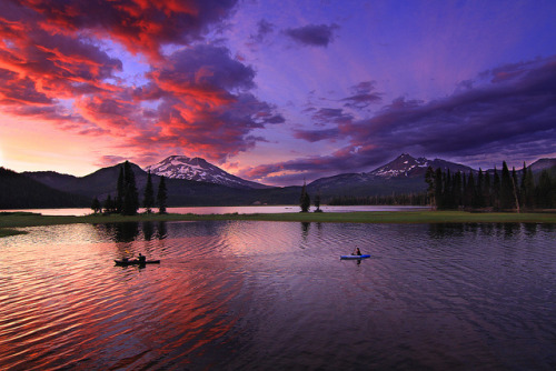 The Moods of Sparks Lake by Skyler Hughes on Flickr.