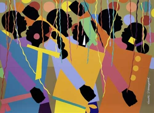 """Gettin' Down"", Varnette Honeywood (1984)"