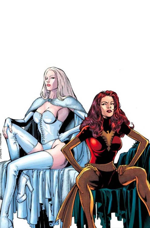 playstationgirl:  NEW X-MEN #139 // Phil Jimenez  .