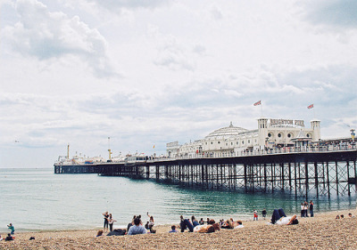 ysvoice:  | ♕ |  Brighton Beach Pier  | by dasha_svertilova | via 13lovebirds