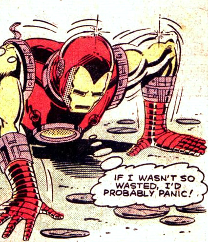 chrishaley:  Comics, Everybody!  Iron Man