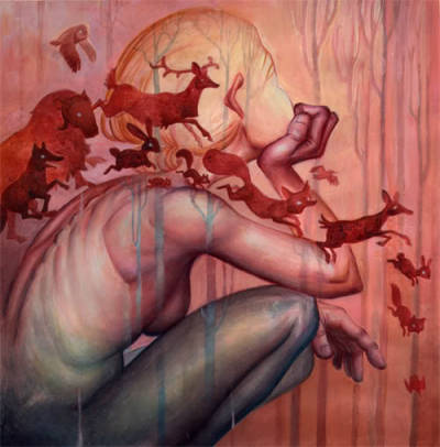 theartattacks:  James Jean - http://www.jamesjean.com/