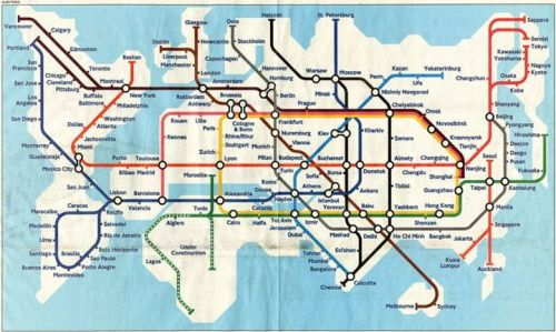 supergreat:  world subway map  画
