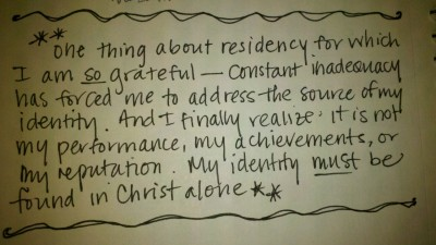 Reflection on identity.