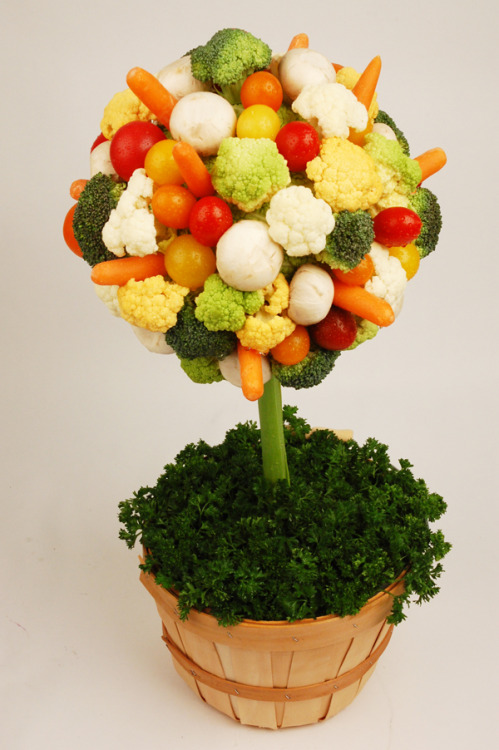 How To: Crudité Topiary