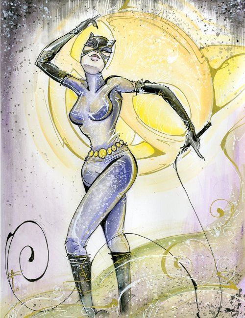 comixbookgurl:  Catwoman by Sara Richard.  Awesome