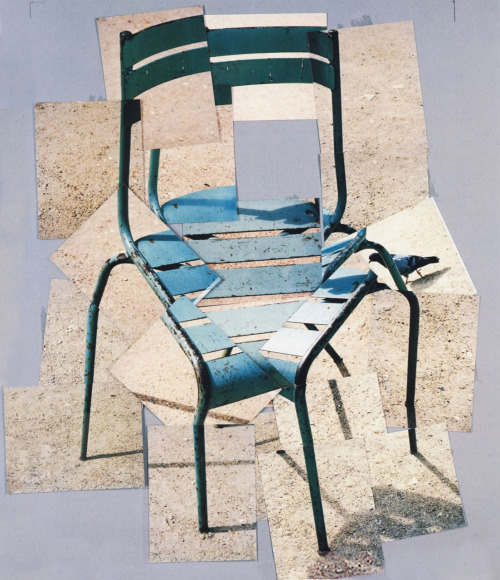 David Hockney- Chair