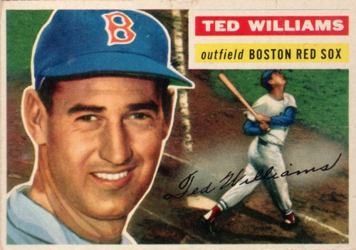 "On September 28th 1941, Red Sox leftfielder Ted Williams ended the season with a .406 batting average. Before the game, Williams was batting .39955; claiming he didn't deserve .400 if he sat out the season's final game, ""The Splendid Splinter"" played a doubleheader against the Philadelphia Athletics and went 6-for-8, marking the last time a Major League player hit .400."