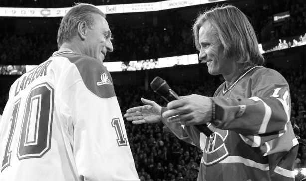 Guy Lafleur & Viggo Mortensen