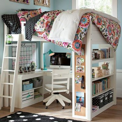 I want a bed like this! :D