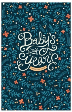 Kristen Smith - Baby's First Year floral notebook