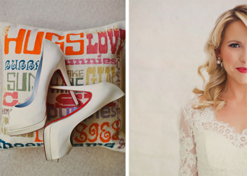 wedding peep toes (via our labor of love - the blog)