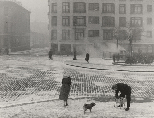 Édouard Boubat, Winter, 1950