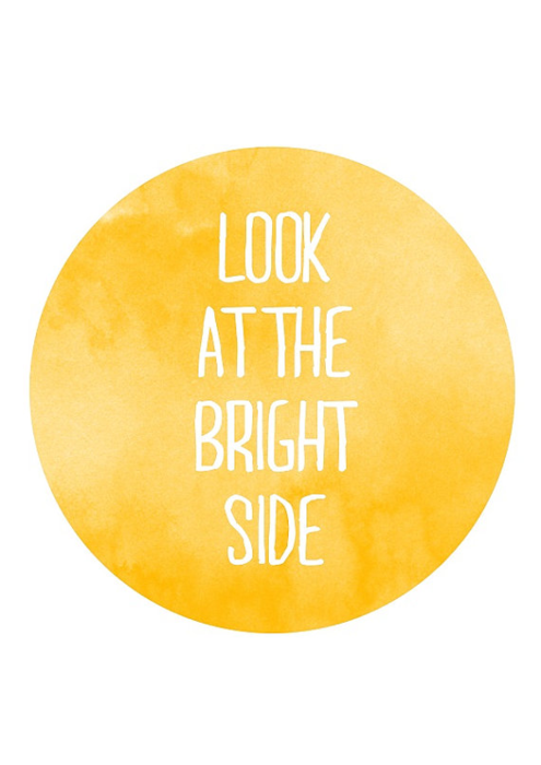 thespiritualvegan:  there is always a bright side