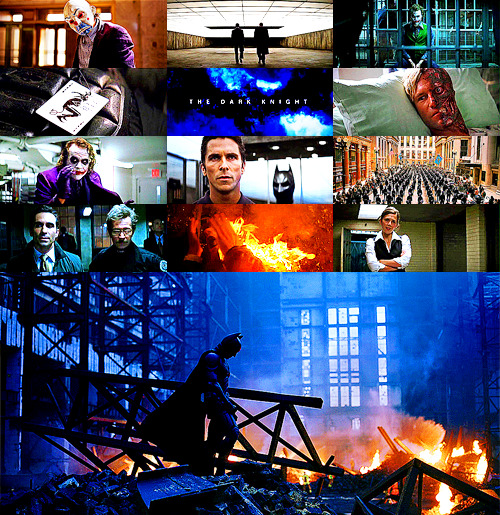 60 Favorite films of all time. #2-The Dark Knight. Directed by Christopher Nolan. Writen by Christopher Nolan & Jonathan Nolan. Story by Christopher Nolan & David S. Goyer. Starring:Christian Bale, Heath Ledger, Michael Caine, Gary Oldman, Aaron Eckhart, Morgan Freeman, Maggie Gyllenhaal, Michael Jai White, Eric Roberts, Chin Han, & Anthony Michael Hall. Released:2008.