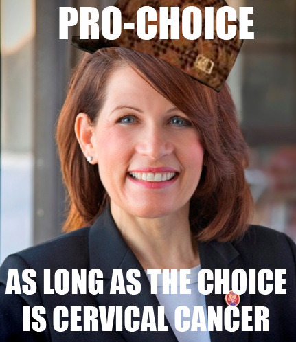 thedailymeme:  Scumbag Michele Bachmann submission from ichichichi