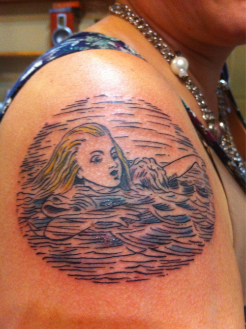 My Alice tat!
