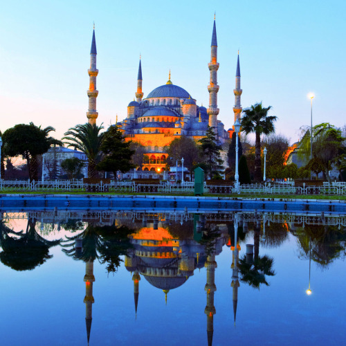 My Bohemian World  Blue Mosque, Istanbul