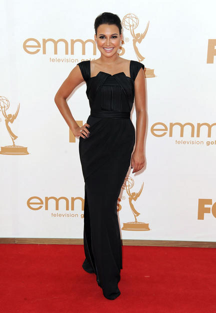 Naya Rivera at the 2011 Primetime Emmy Awards