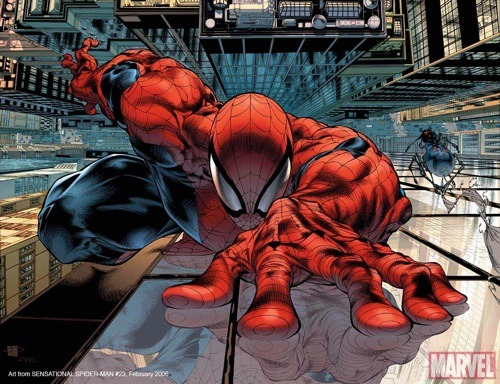 Nice Spiderman Artwork By Top Design Magazine - http://bit.ly/oSOyCU