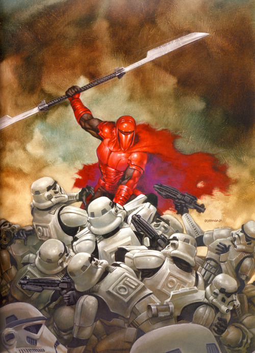 svalts:  Crimson Empire III - by Dave Dorman Crimson Empire III was the third issue in the 6 part Crimson Empire series of comics, and was released on February 18, 1998 by Dark Horse Comics.