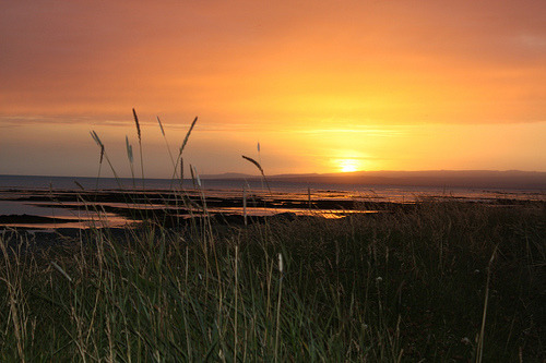 llbwwb:  Golden Sunset in Stokkseyri.Iceland.Explore (by Vigga Páls)