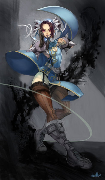 Elsevilla draws the crap out of Chun-Li. #capcom #art