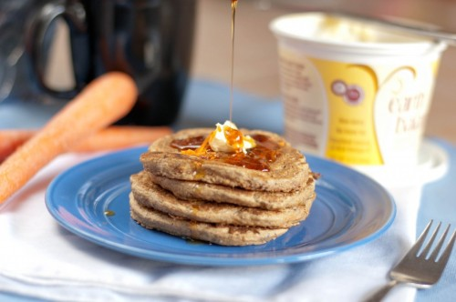 (via Carrot Cake Pancakes | The Tie Dye Files)