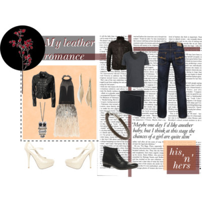My leather romance by spiralsphere featuring ankle strap heelsYves Saint Laurent halter neck top, £600Club L faux leather military jacket, £20Matthew Williamson silk skirt, $2,675Ankle strap heels, $33Burberry leather bag, $295Mango oversized jewelry, £18Longs jewelry, $12Superdry Club 65 Leather Jacket, £149Nudie Average Joe Eco Wash Jeans, $188Base London Armstrong Lace-Up Boots, $183Simon Carter Woven Leather Bracelet, $53AMERICAN VINTAGE Burned Anthracite Cotton T-Shirt, €49Zola Sandal, £40