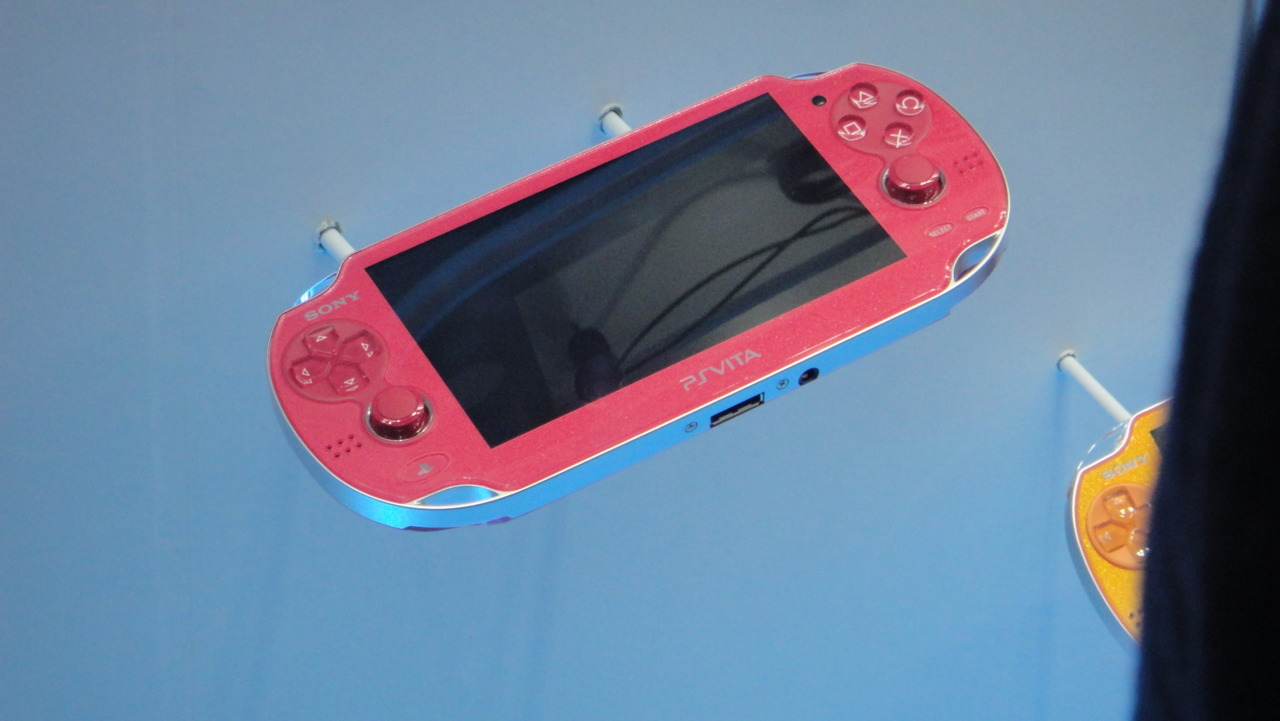 went to the Tokyo Game Show for the second time and saw the PSVITA. Tokyo Game Show was full of people everywhere, but we were able to go around and take pics. Finally Sony was letting people enjoy the view of the new PSVITA and we were able to get super close. Unfortunately we weren't allowed to play it as all the lines were all completely filled. It was great to see the new device. Is smaller than I previously thought and is now in line to become a new system that I will buy. Sony also unveiled new PS3 colors like RED Blue and a special FF13 version among others. We played Soul Calibur V and it looks amazing. We also saw the preview to Phantasy Star Online 2 and I can't wait until that game comes out. Finally, we played Shinobi 3D a quick little game for the 3DS that shows promise for the 3D capable system. :D After enjoying the day at the TGS we stayed around watching Japanese performers and finally headed back to the hotel to begin our planning for the 2nd week in Japan. I cannot believe it's been already a week since we got here. I've seen so much, but i feel i will miss so much. I can't wait until we go to Kyoto! :D