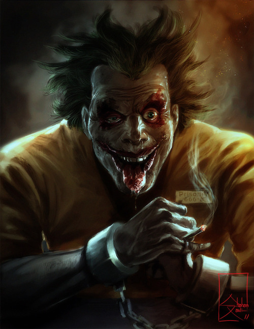 elyshatheriddell:  The Joke - The Laughing Clown by Shahan Zaidi