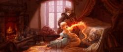 art tangled disney mother gothel Rapunzel animation concept art Lisa Keene