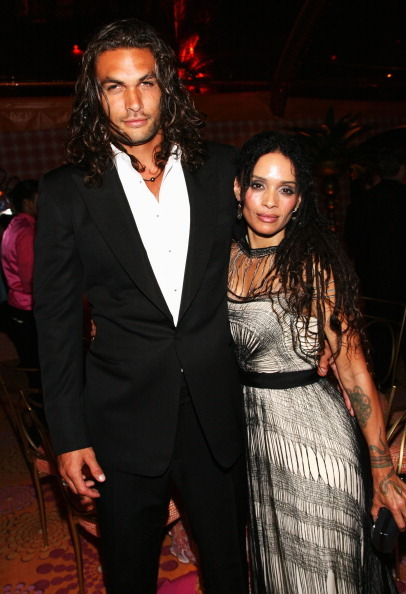Jason Momoa & Lisa Bonet - Emmy after-party, September 18th 2011 Such a pretty couple! So much hair between them! It must get spectacularly tangled together during love-making.