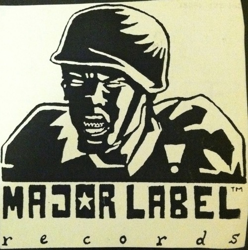 This is a logo done by Marcus Thiele (aka Marcus Parcus) for a record label I started in 1996.  The name seemed like a great idea at the time.