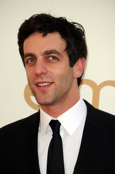 fyeahbjnovak:  B.J. Novak arrives at the 63rd Annual Primetime Emmy Awards - Sept 18, 2011